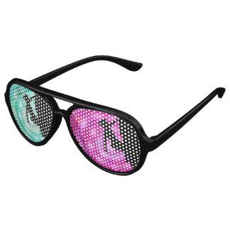 de partijschaduwen van klimmersihouette zonnebril