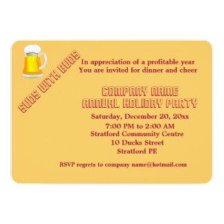 De partijuitnodiging van het bedrijf 12,7x17,8 uitnodiging kaart