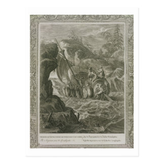 De pas Argonauts Symplegades (gravure) Briefkaart