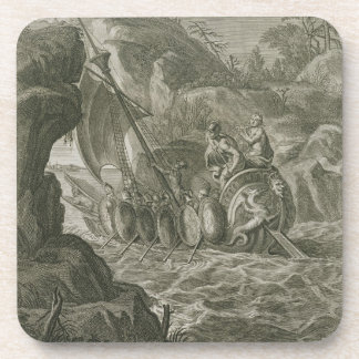 De pas Argonauts Symplegades (gravure) Drankjes Onderzetters