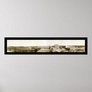 De Pas van Aransas, TX Foto 1911 Poster