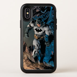 De Pas van Batman OtterBox Symmetry iPhone X Hoesje