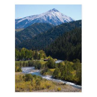 De Pas van Kebler, Colorado Briefkaart
