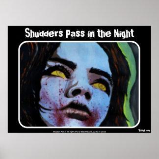 """De """"pas van rillingen in Poster het van de Nacht"""""""