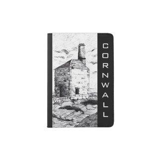 De paspoorthouder van Cornwall (a253) Paspoort Houder