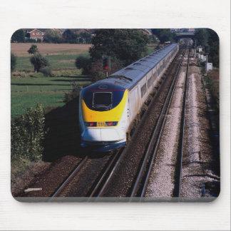 De passagierstrein van Eurostar Muismatten