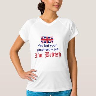 De Pastei van de Britse Herder T Shirt