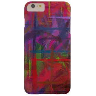 De pastelkleur kleurde Abstract Patroon #9 Barely There iPhone 6 Plus Hoesje
