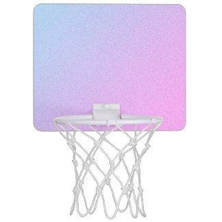 De pastelkleur Ombre schittert Mini Basketbalring