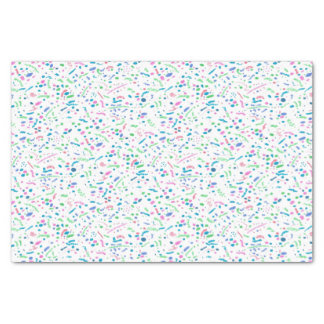 De pastelkleur ploetert de Druk van Confettien Tissuepapier