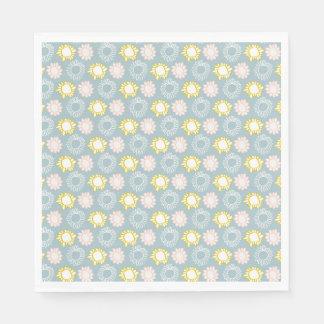 De Pastelkleur van de lente bloeit de Servetten Papieren Servet
