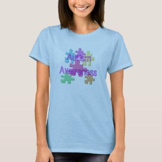 De Pastelkleur van de Voorlichting van het autisme T Shirt