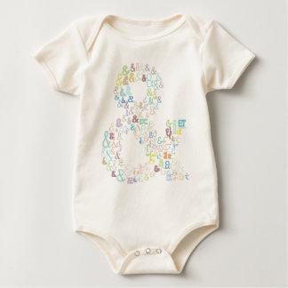 De pastelkleuren van Ampersand Baby Shirt