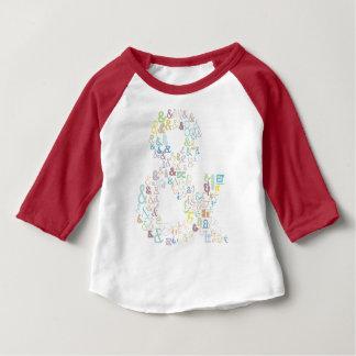 De pastelkleuren van Ampersand Baby T Shirts