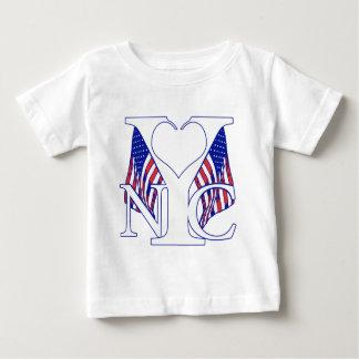 De Patriot van New York Baby T-shirt