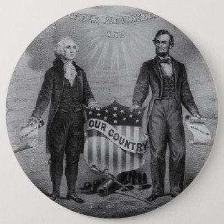 De Patriotten de V.S. van George Washington Ronde Button 6,0 Cm
