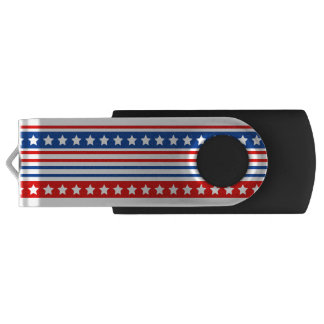 De patriottische Aandrijving van de Flits van USB