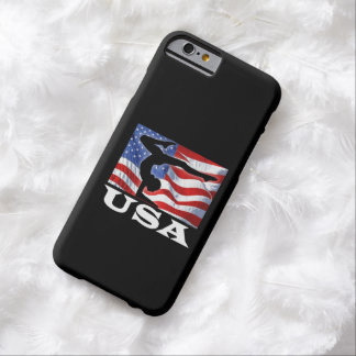 De patriottische Amerikaanse Gymnastiek van de Barely There iPhone 6 Hoesje