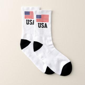 De patriottische Amerikaanse sport van de de Sokken