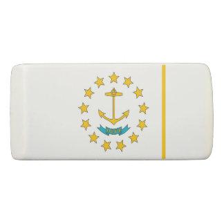 De patriottische Gom van de Wig met vlag Rhode Gum