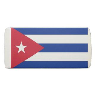 De patriottische Gom van de Wig met vlag van Cuba Gum
