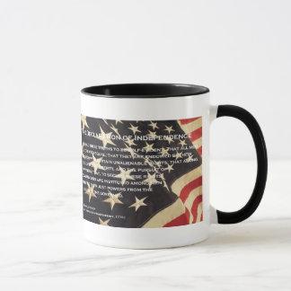 De patriottische Mok van de Koffie van de