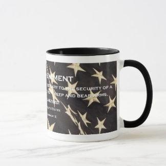 """De patriottische Mok van de Koffie van het """"Tweede"""