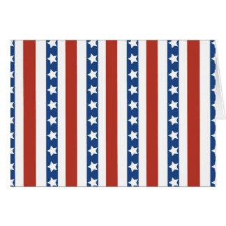 De patriottische Rode Witte Blauwe Vrijheid van Kaart