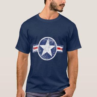 De Patriottische T-shirt van de Vintage Ster van