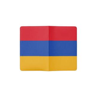 De patriottische Vlag van Armenië Pocket Moleskine Notitieboekje