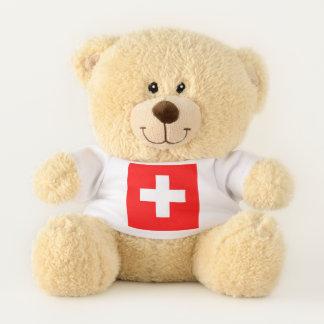 De patriottische vlag van de Teddybeer van