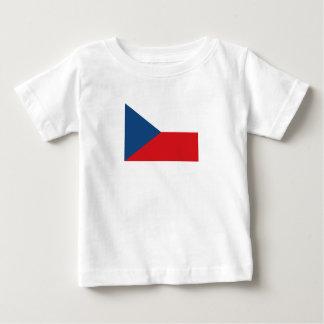 De patriottische Vlag van de Tsjechische Republiek Baby T Shirts