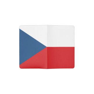De patriottische Vlag van de Tsjechische Republiek Pocket Moleskine Notitieboekje