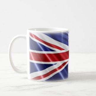 De patriottische Vlag van Union Jack Koffiemok