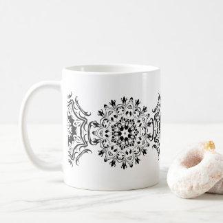 De Patronen van Zentangle Koffiemok