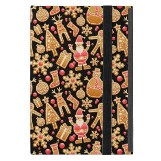 De patroon-Kerstman van Kerstmis de Boom Rudolph iPad Mini Hoesje