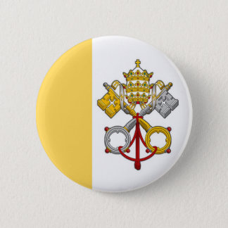 De pauselijke Knoop van de Vlag Ronde Button 5,7 Cm