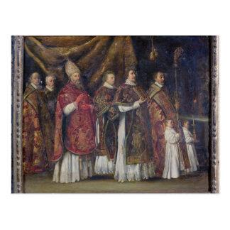 De pauselijke Massa of, de Optocht Briefkaart