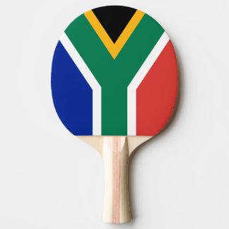 De peddel van de de vlagpingpong van Zuid-Afrika Tafeltennis Bat