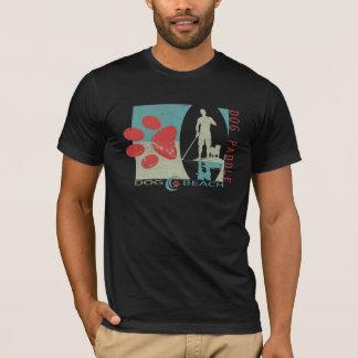 De Peddel van de hond - het Strand van de Hond T Shirt