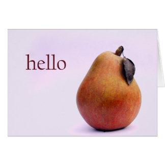 De Peer van Hello daar Briefkaarten 0