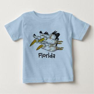 De pelikaanoverhemd van Florida van het baby Baby T Shirts