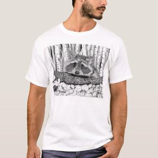 De Pen van de wasbeer en de Tekening van de Inkt T Shirt