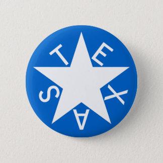 De Pen van Texas DE Zavala Flag Ronde Button 5,7 Cm