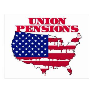 De Pensioenen van de Unie Briefkaart