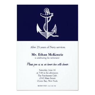 De Pensionering van de marine Kaart