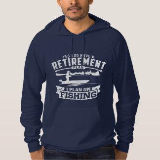 De Pensionering van de visserij Hoodie