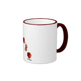 De Peper van de Spaanse peper van Adobo Koffie Bekers