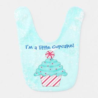 De Pepermunt van Kerstmis ben ik een Kleine Baby Slabbetjes