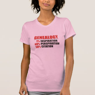 De Percentages van de genealogie T-shirt